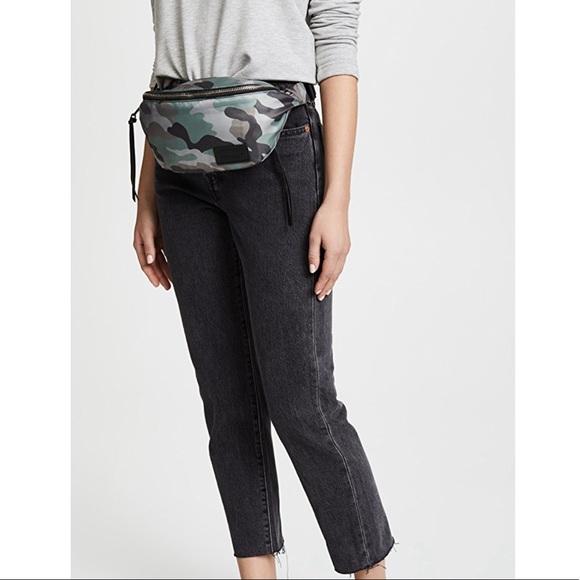 2b422e27ef2 NEW Rebecca Minkoff Camo Nylon Belt Bag Fanny Pack.  M 5c51f1d245c8b3625f4e5e44